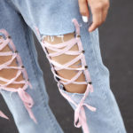 Jeans With Lace | Chungha