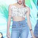 Short Top With Dots | Chaeyoung – Twice
