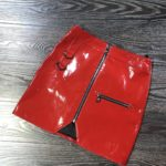 Red Leather Skirt   Yoona – Girls Generation