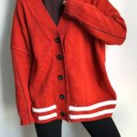 Red Loose Cardigan   Chanyeol – EXO