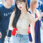 Padded Cherry Floral Sling Top | Soojin – (G)I-DLE