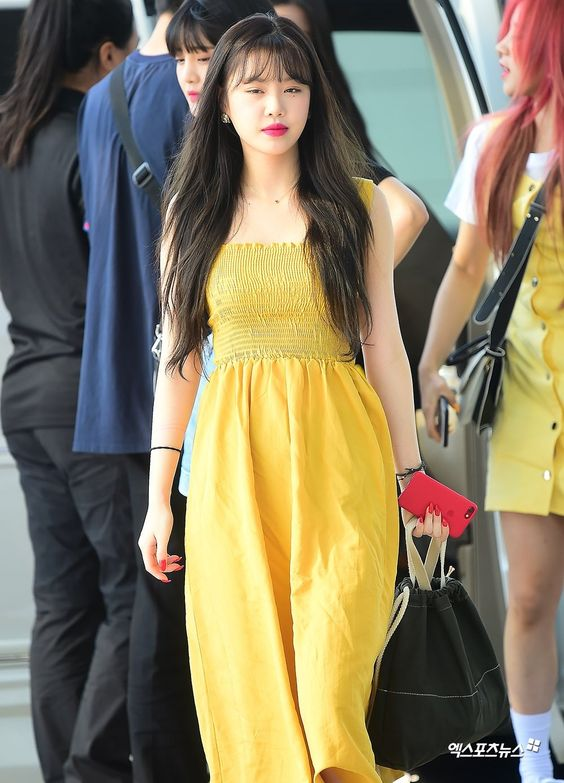 Bright Yellow Dress | Soojin – (G)I-DLE