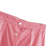 Red Plaid Sling Tube Top And Skirt Set | Dahyun – Twice