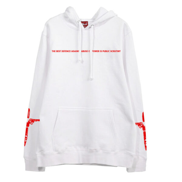 """""""The Best Defence Against Abuse Of Power Is Public Scrutiny"""" Hoodie   Suga – BTS"""