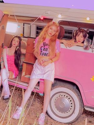 """""""You Can't Touch This"""" Pink Sequin T-Shirt 