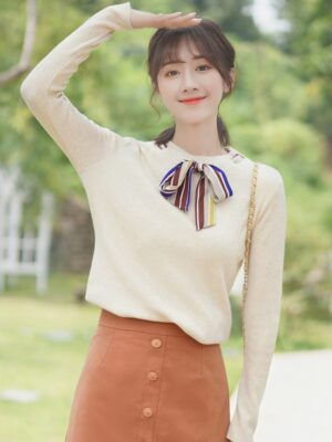 Sweater with Bow (1)
