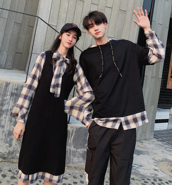 Plaid Long Sleeves with Shirt | Lucas – NCT