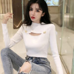 Ribbed Top with Button Shirt | Ryujin – ITZY