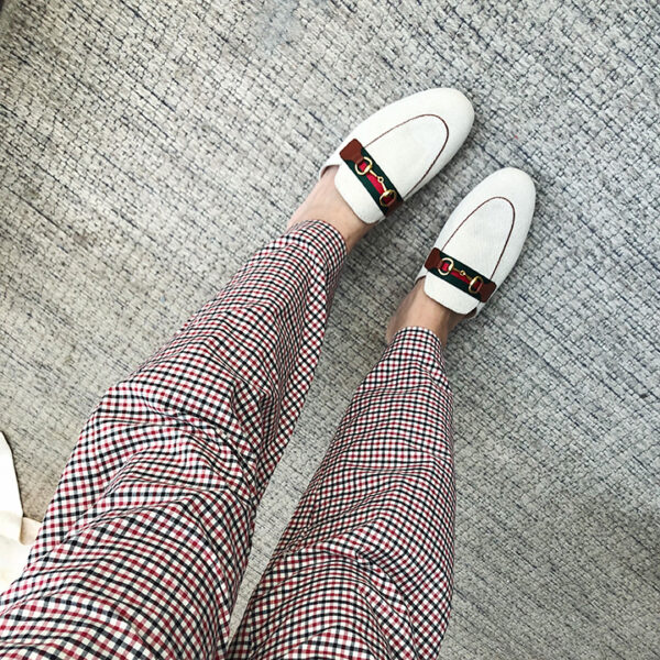 Checkered Pattern with Dumbo Design Pants | Jin – BTS