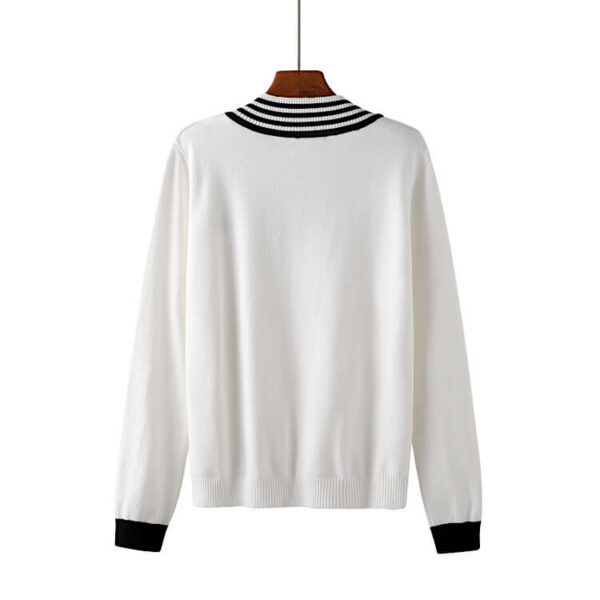 Multi Stripes V-neck Knitted Sweater | Jaehyun – NCT