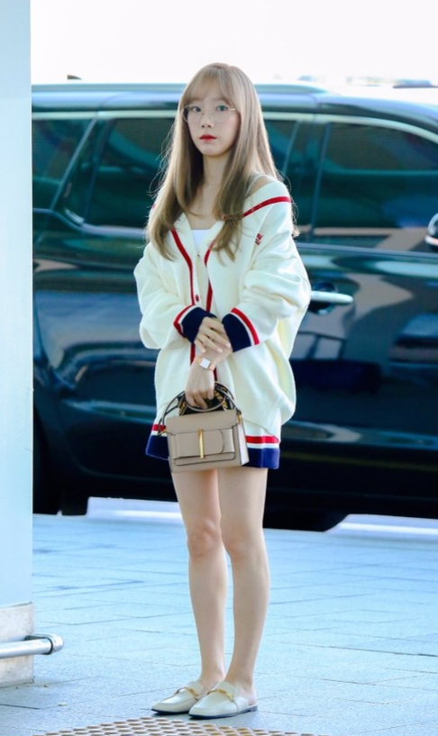 Outlined Casual Skirt   Taeyeon – Girls Generation