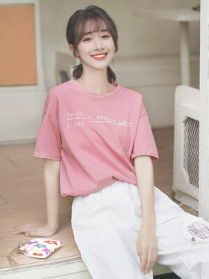 Want You Pink T-Shirt (6)