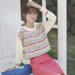 Cute Fruits Embroidered Sweater