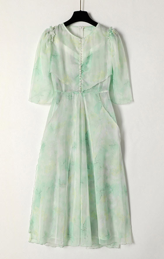 Sheer Sleeve Fairy Outer Dress | Ko Moon‑Young – It's Okay Not To Be Okay