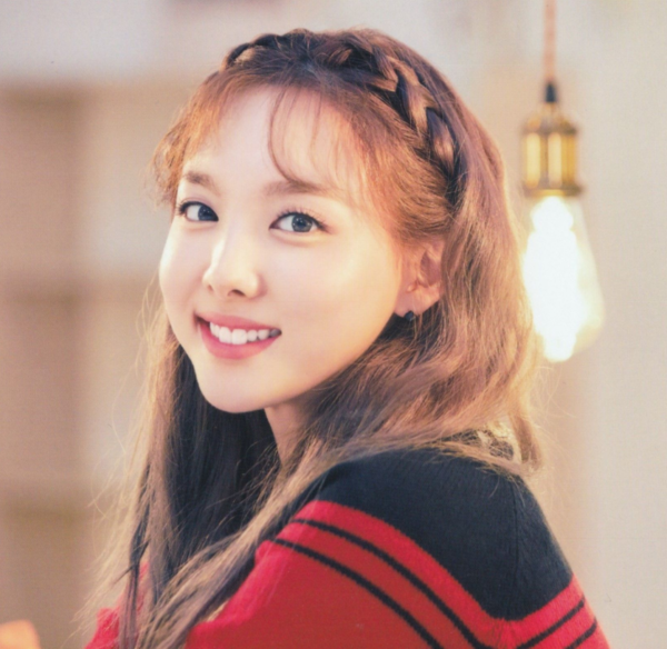 Color Block Knit Cropped Top   Nayeon – Twice