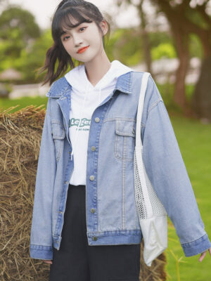Washed Out Denim Colored Jacket (4)