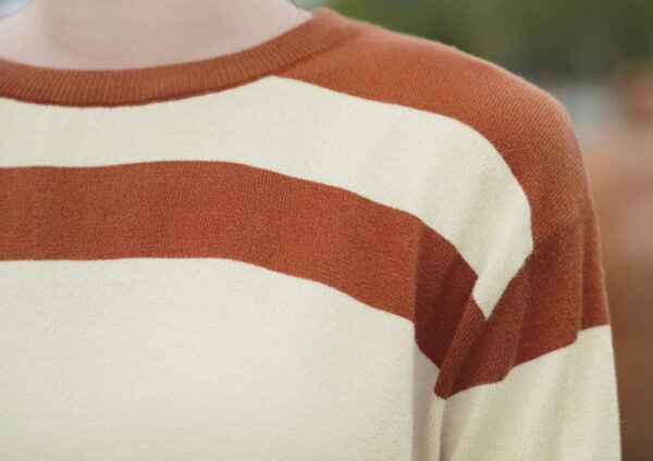 Brown And Beige Sweater
