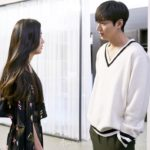 White V-neck Sweater With Stripe Detail | Heo Joon-Jae – The Legend Of The Blue Sea