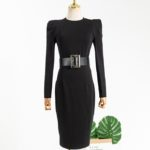 Black Belted Bodycon Dress   Ko Moon‑Young – It's Okay Not To Be Okay