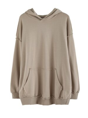 Shim Cheong – The Legend Of The Blue Sea Brown Drawstring Hoodie (1)