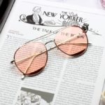 Pink Tinted Aviator Glasses | Shim Cheong – The Legend Of The Blue Sea