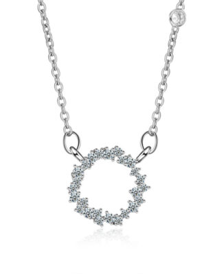 Shim Cheong – The Legend Of The Blue Sea Small Circle Pendant Necklace (6)