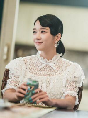 Delicate Lace Embroidered Top | Ko Moon-Young – It's Okay To Not Be Okay