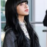 White Shirt With Floral Print | Lisa – BlackPink