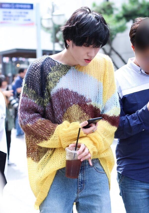 Wool Knitted Sweater   Yugyeom – GOT7