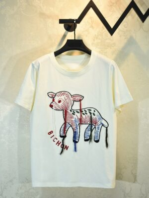 J-hope – BTS Cute Animal Embroidered T-Shirt (2)