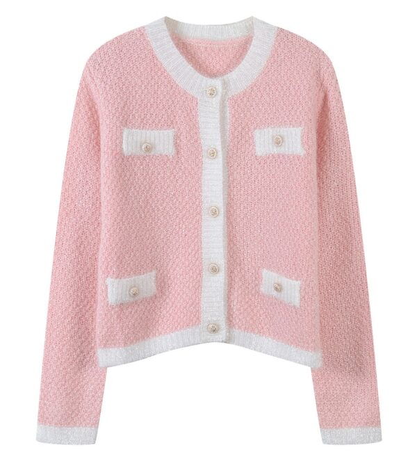 Sequined Pink Cardigan | Lim Joo Kyung – True Beauty