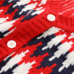 Zigzag Pattern Knitted Cardigan | Jungkook – BTS