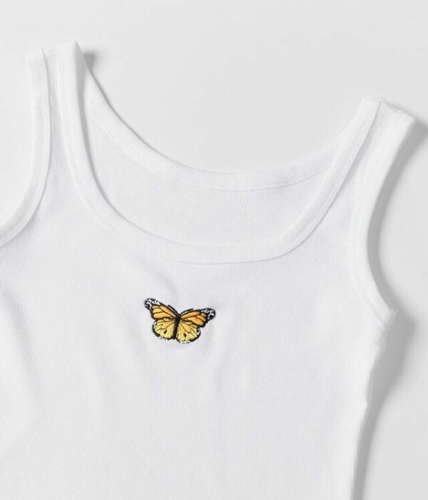 Butterfly Cropped Tank Top   Momo – Twice