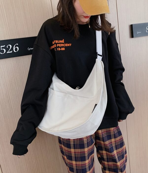 White Canvas Bag | Hendery – NCT
