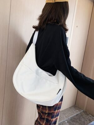 Hendery – NCT White Canvas Bag (8)