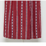 Red Ethnic Backless Maxi Dress | IU