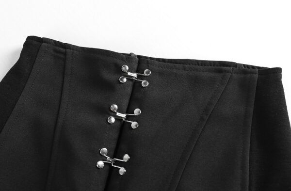 Black Hook Skirt With Straps | Ryujin – ITZY