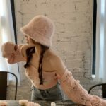 Floral Embroidered Pink Top and Cardigan Set | Lia – ITZY