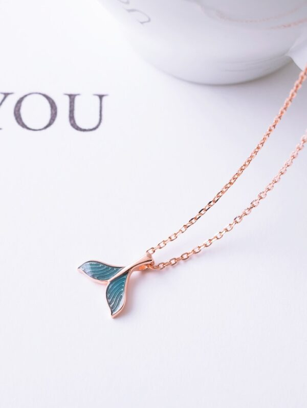 Blue Mermaid Tail Necklace | Jungkook – BTS