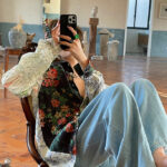 Multi-patterned Floral Shirt   Taehyung – BTS