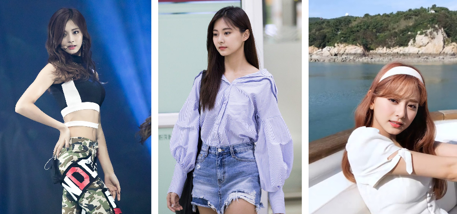 Tzuyu's Fashion Style: from SIXTEEN until now