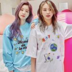 Cute Graphic Print T-Shirt | Chaeyoung – Twice
