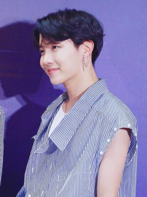 Double Clip-On Chain Earring | J-Hope – BTS