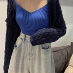 Blue Sling Top and Cardigan Set | Lia – ITZY