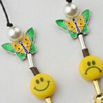 Smiley Pearl Dice Necklace | Yeonjun – TXT