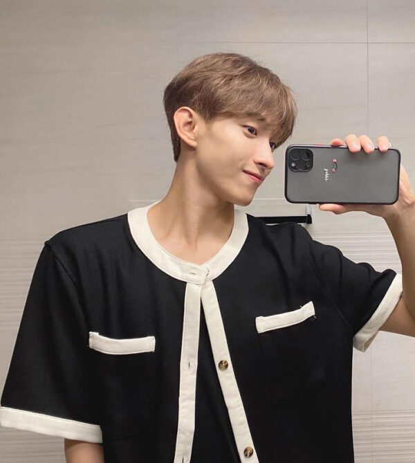 Black And White Outer Shirt | DK – Seventeen
