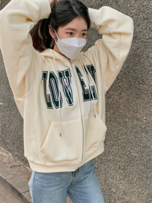 Beige Lonely Lovely Hoodie Chenle – NCT 08