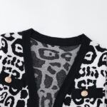 Black And White Knitted Cardigan | Ryujin – ITZY
