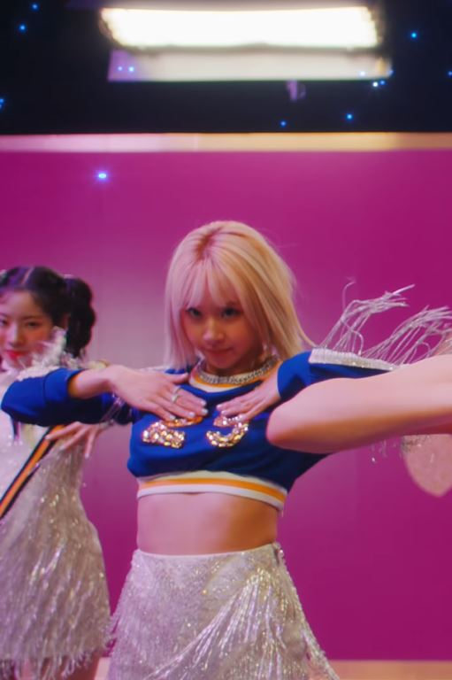 Crystal Embezzled Chain Necklace   Chaeyoung – Twice
